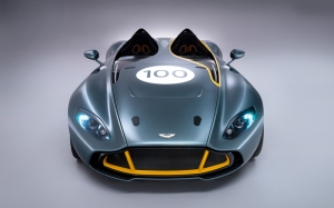 Aston Martin CC100 Otomobil Araçlar Kanvas Tablo