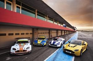 Aston Martin Ralli Yarış Arabası Kanvas Tablo