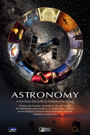 Astronomy Film Afişi Sinema Kanvas Tablo