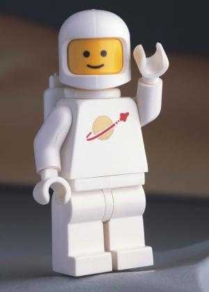 Astronot Lego Popüler Kültür Kanvas Tablo