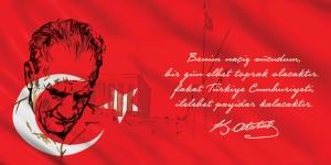 Atatürk Benim Naciz Vücudum Atatürk Unique Kanvas Tablo 2