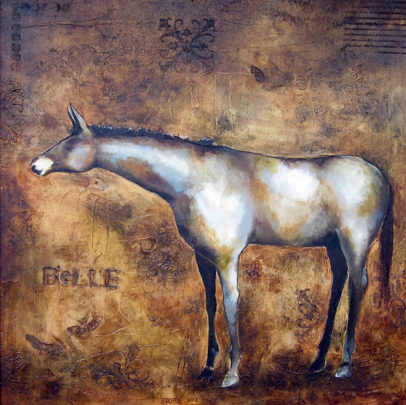 Atlar 5, Yılkı Atı, Hayvanlar Alemi Dekoratif Kanvas Tablo