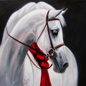 Atlar-14 Klasik Sanat Kanvas Tablo