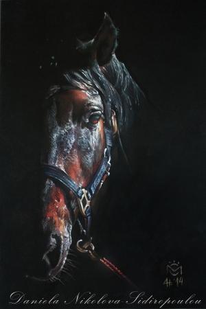 Atlar-18 Klasik Sanat Kanvas Tablo