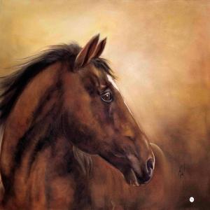 Atlar 2 Yağlı Boya Sanat Kanvas Tablo