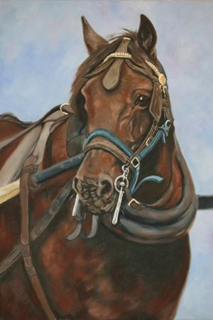 Atlar-28 Klasik Sanat Kanvas Tablo