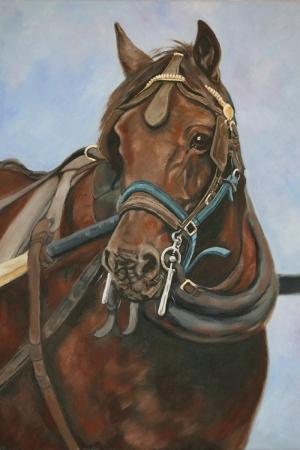 Atlar-3 Klasik Sanat Kanvas Tablo