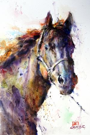Atlar-35 Klasik Sanat Kanvas Tablo