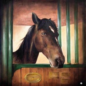 Atlar 5 Yağlı Boya Sanat Kanvas Tablo