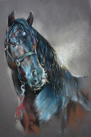 Atlar-52 Klasik Sanat Kanvas Tablo