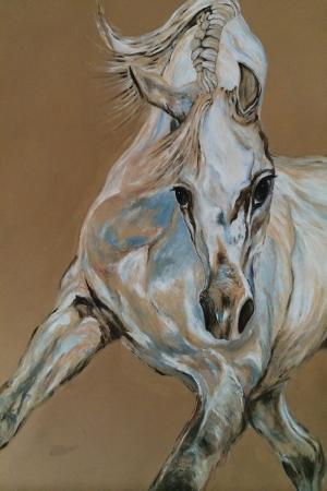 Atlar-55 Klasik Sanat Kanvas Tablo