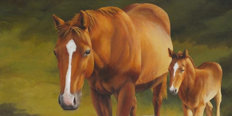 Atlar-61 Klasik Sanat Kanvas Tablo