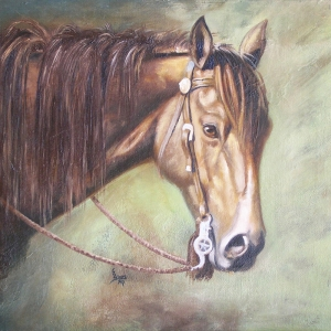 Atlar-62 Klasik Sanat Kanvas Tablo