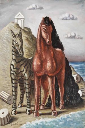 Atlar-68 Klasik Sanat Kanvas Tablo