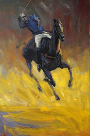 Atlar-69 Klasik Sanat Kanvas Tablo