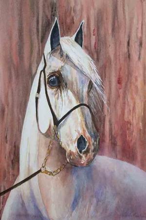 Atlar-72 Klasik Sanat Kanvas Tablo