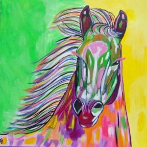 Atlar-9 Klasik Sanat Kanvas Tablo