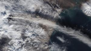 Atmosferden Dünya Fotoğrafı Dünya & Uzay Kanvas Tablo
