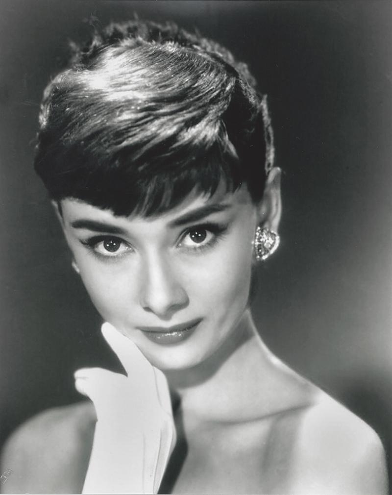 Audrey Hepburn Ünlü Yüzler Kanvas Tablo