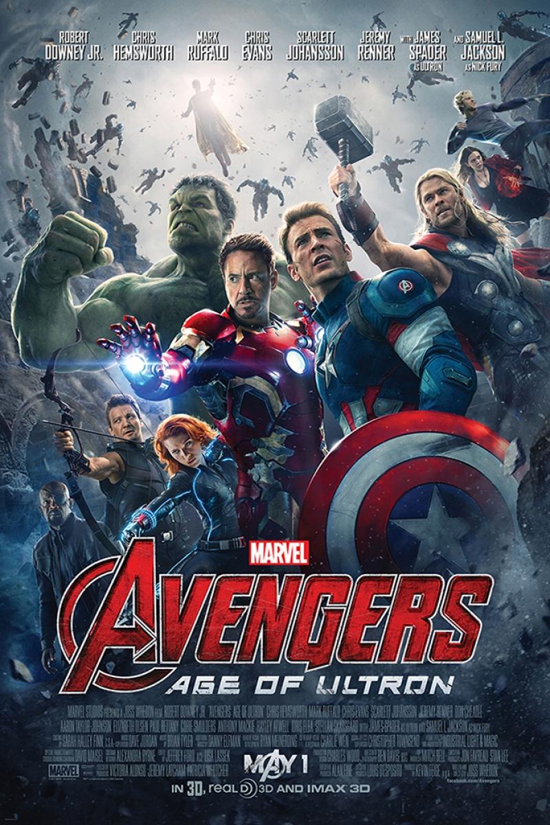 Avengers, Age Of Ultron Film Afişi Sinema Kanvas Tablo