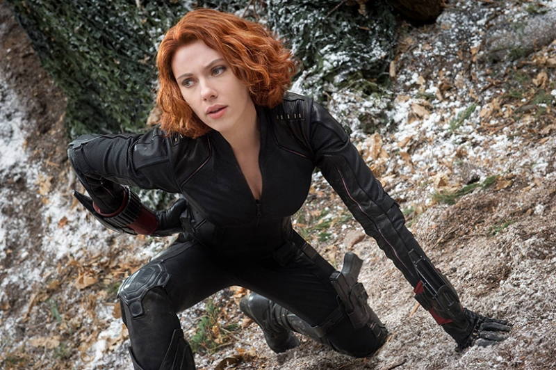 Avengers - Black Widow-2 Marvel Süper Kahramanlar Kanvas Tablo