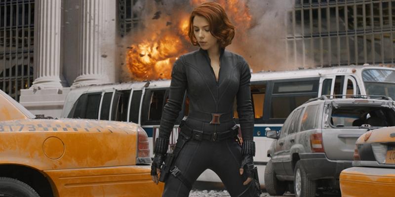 Avengers - Black Widow Karadul Süper Kahramanlar Kanvas Tablo