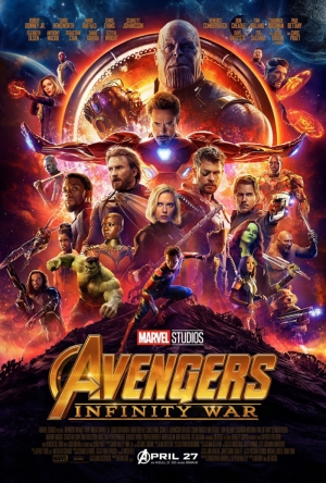 Avengers Infinity War 2018 Film Poster Kanvas Tablo