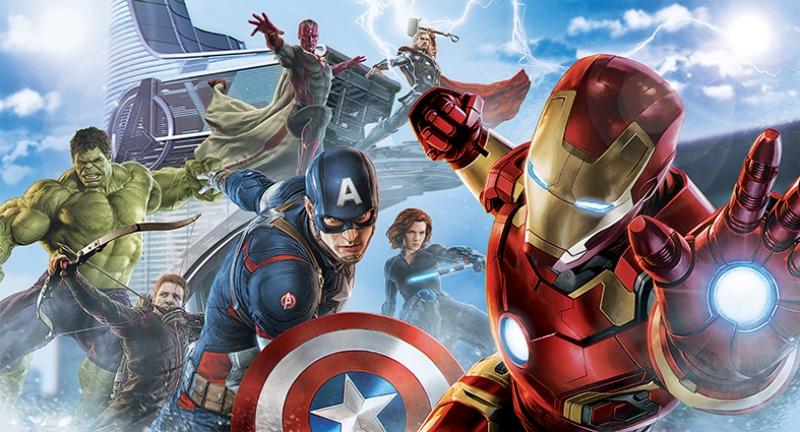 Avengers - Yenilmezler 2 Süper Kahramanlar Kanvas Tablo