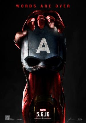 Avengers - Yenilmezler Iron Man ve Kaptan Amerika Süper Kahramanlar Kanvas Tablo
