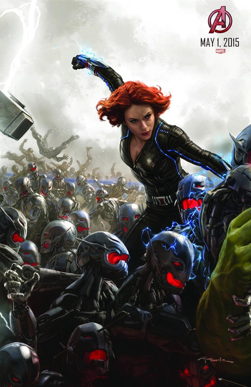 Avengers - Yenilmezler Poster-1 Karadul Süper Kahramanlar Kanvas Tablo