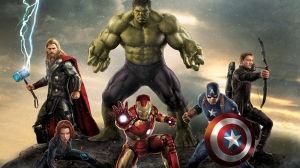 Avengers - Yenilmezler Poster-2 Süper Kahramanlar Kanvas Tablo