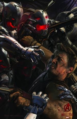 Avengers - Yenilmezler Şahin Göz Süper Kahramanlar Kanvas Tablo
