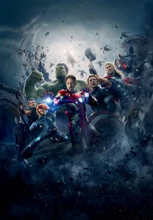 Avengers - Yenilmezler Süper Kahramanlar-3 Kanvas Tablo