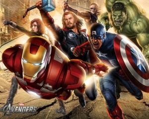 Avengers - Yenilmezler Süper Kahramanlar Kanvas Tablo