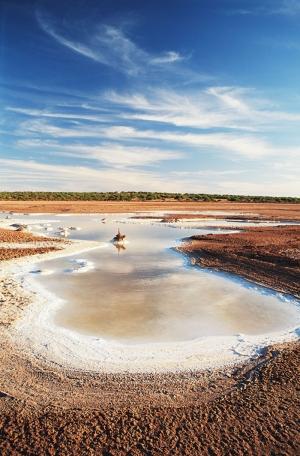Avustralya Çöl 1 Doğa Manzaraları Kanvas Tablo