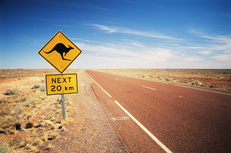 Avustralya Çöl 2 Doğa Manzaraları Kanvas Tablo