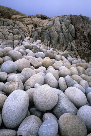 Avustralya Deniz Çakılları Doğa Manzaraları Kanvas Tablo