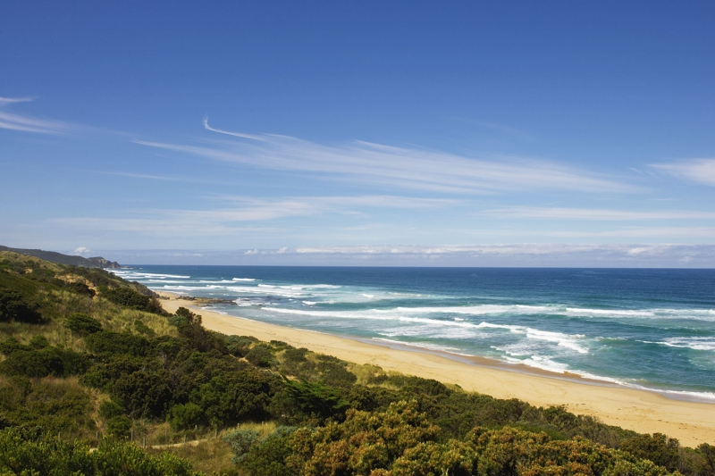 Avustralya Deniz Sahil 10 Doğa Manzaraları Kanvas Tablo