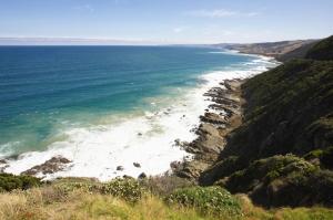 Avustralya Deniz Sahil 4 Doğa Manzaraları Kanvas Tablo