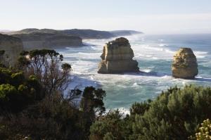 Avustralya Deniz Sahil 6 Doğa Manzaraları Kanvas Tablo