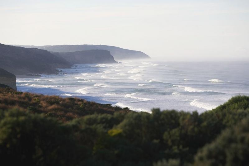 Avustralya Deniz Sahil 8 Doğa Manzaraları Kanvas Tablo