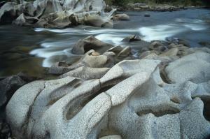 Avustralya Nehir Ağzı Doğa Manzaraları Kanvas Tablo