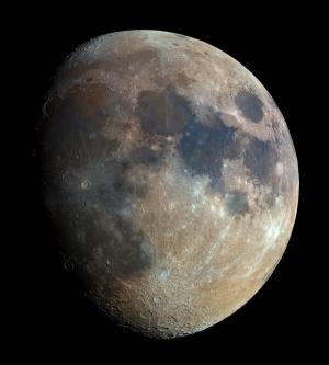 Ay 2 Dünya & Uzay Kanvas Tablo