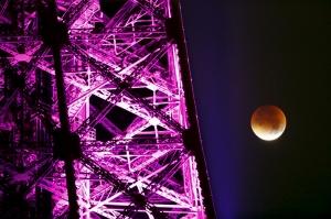 Ay Fotoğraf Kanvas Tablo