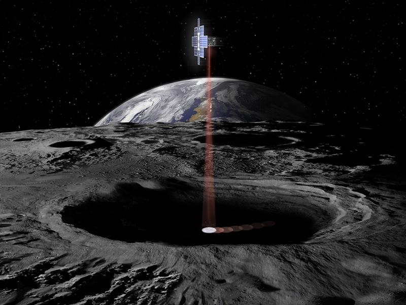 Ay Yüzeyi Dünya & Uzay Kanvas Tablo