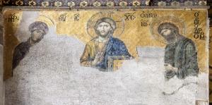 Ayasofya Deesis Mozaiği Sanat Tarihi Temalı Kanvas Tablo