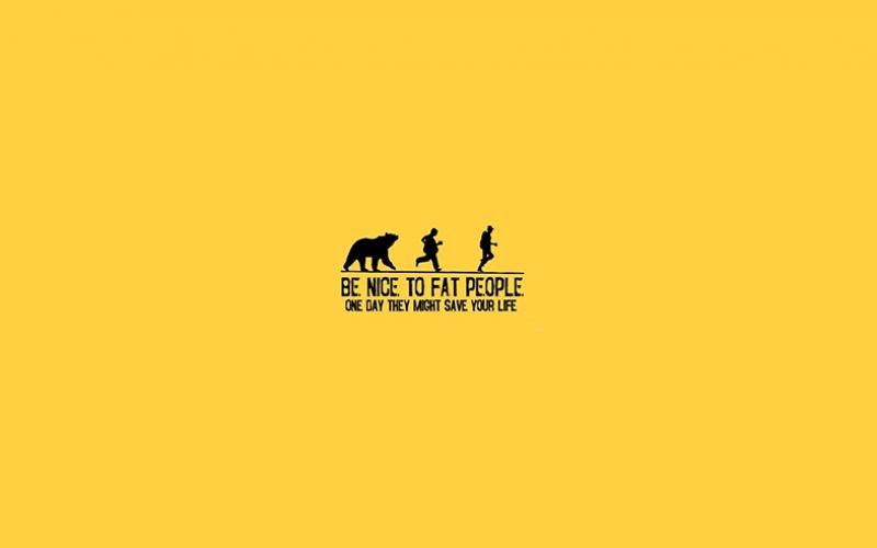 Ayı Koşu Poster Popüler Kültür Kanvas Tablo