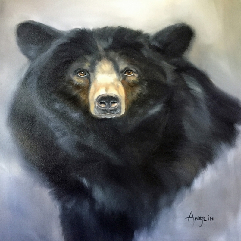 Ayılar Vahşi Hayvanlar-4, Ayı Temalı Kanvas Tablo