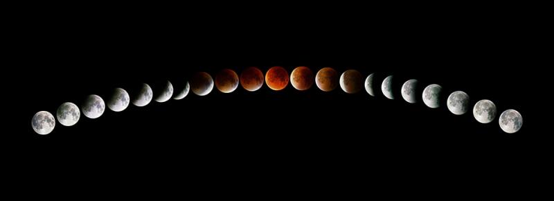 Ayın Hareketleri Dünya & Uzay Kanvas Tablo