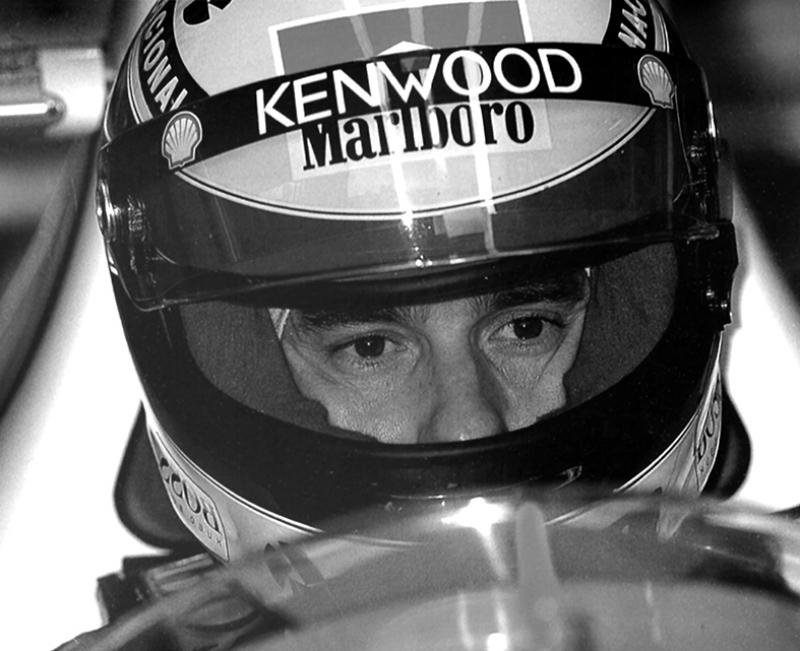 Ayton Senna Formula 1 Spor Kanvas Tablo